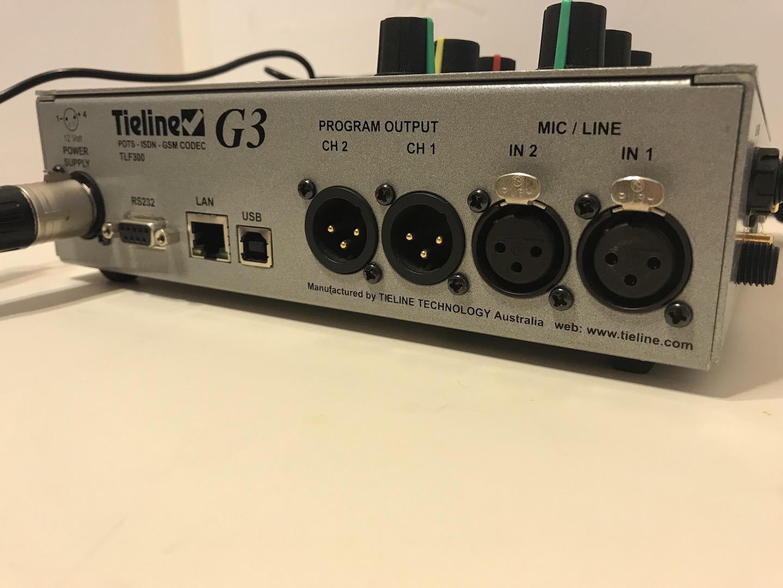 Codecs. Transceivers :: Tieline Commander G3 IP/USB/G3 Broadcast Audio Codec - SKBroadcast. Broadcast equipment.
