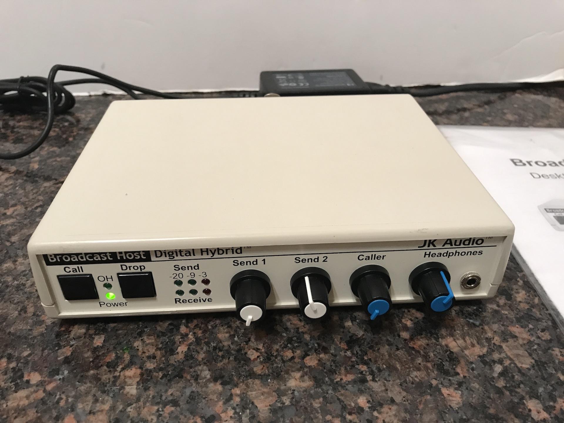Broadcast Phone Systems :: JK Audio Broadcast Host Desktop Digital Hybrid - SKBroadcast. Broadcast equipment.