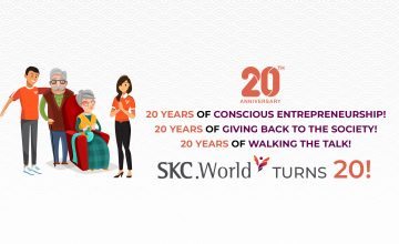 20 Years of Spreading Joy and Consciousness! : Message from the Founders