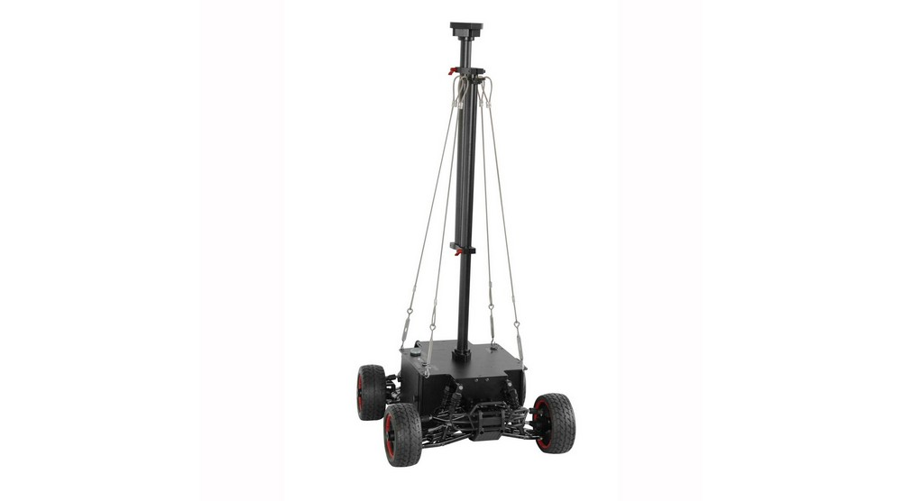 Small VR Gimbal Car with VR stabilizer suitable for 360 VR