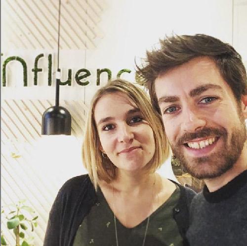 Influence Concept Store. Portrait de Marion et Clément, créateurs d'Influence Concept Store.