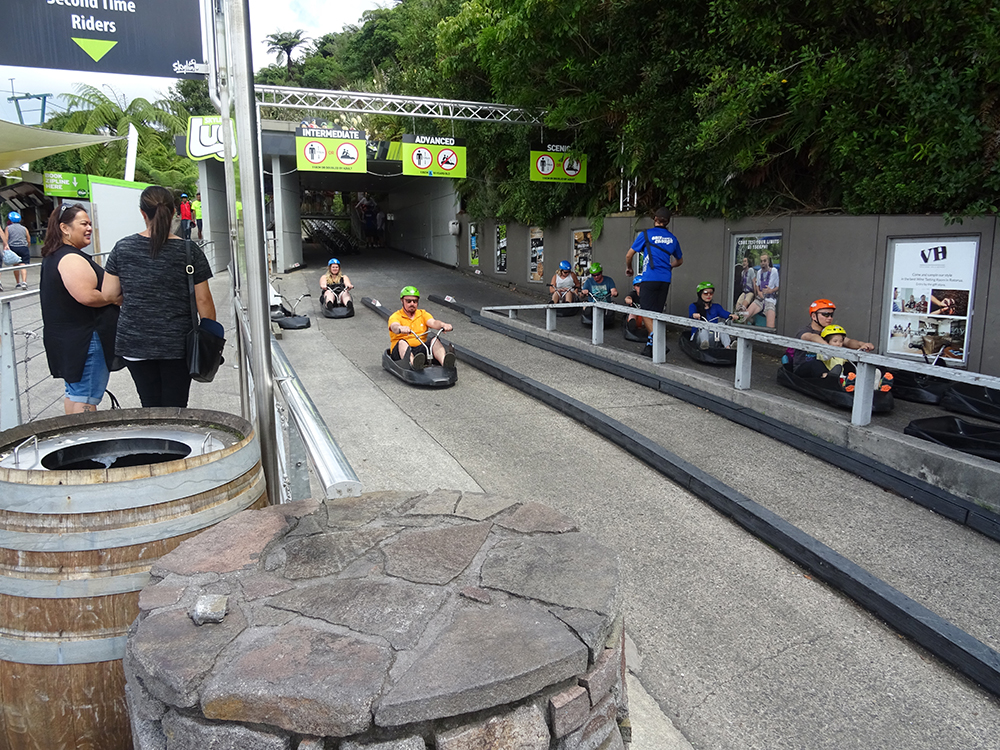 Rotorua Skyline Gondola and Luge