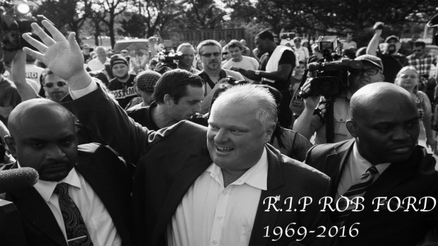 Rob Ford, 1969-2016