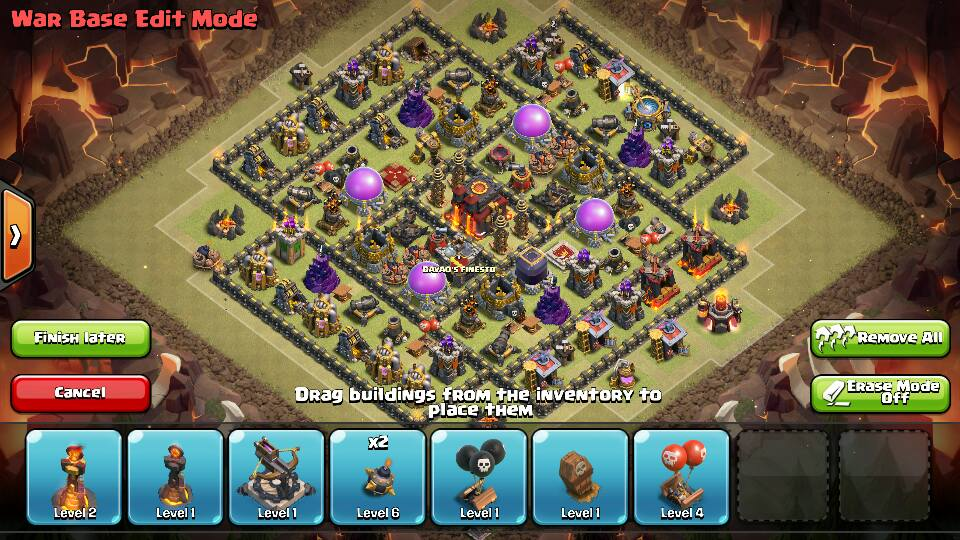 clash of clans layout builder