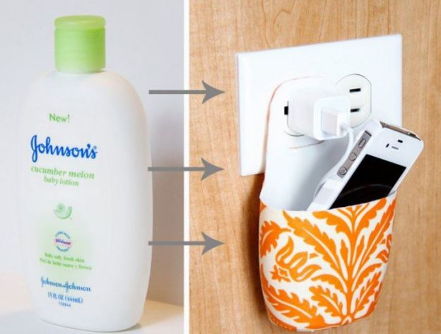 Phone Holder Lotion Bottle
