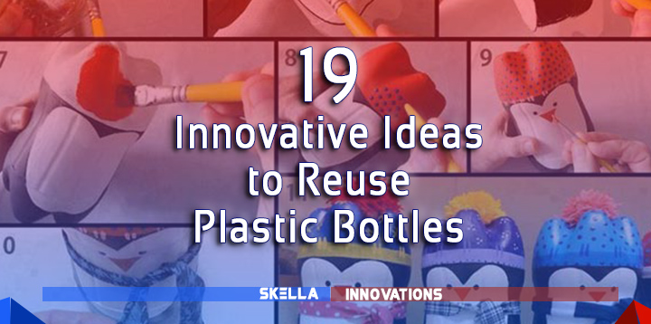 Innovative Ways to Recycle Plastic Bottles, Caps and Spoons