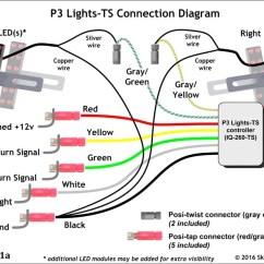 Led Trailer Lights Wiring Diagram 1998 Dodge Dakota Headlight Switch Pig Tail Schematic 3 Wire Schema Connector