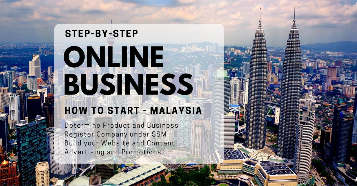 How to start an Online Business in Malaysia