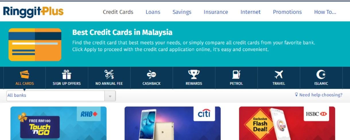 Credit-card-comparison-site-RinggitPlus