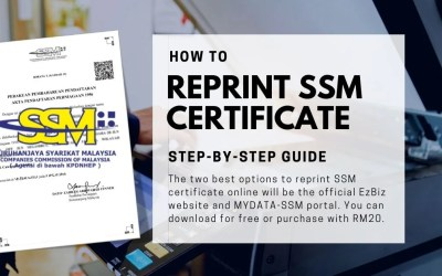 How to Reprint SSM Certificate Online (Step-by-Step Guide)