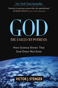 God: The Failed Hypothesis (book cover)