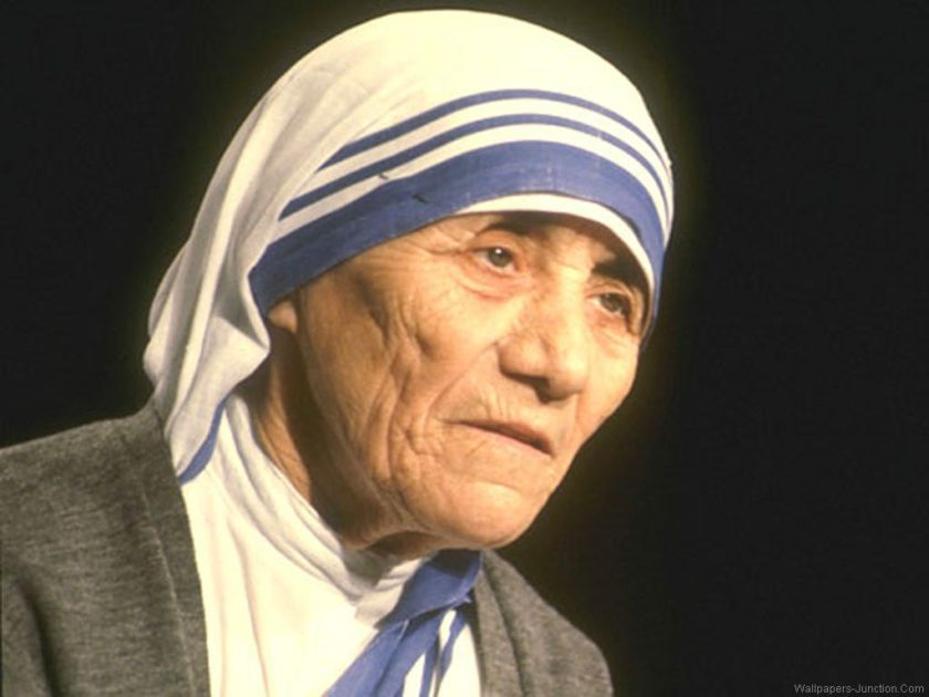 essay on my ideal person mother teresa
