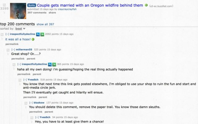 Couple_gets_married_with_an_Oregon_wildfire_behind_them___photoshopbattles