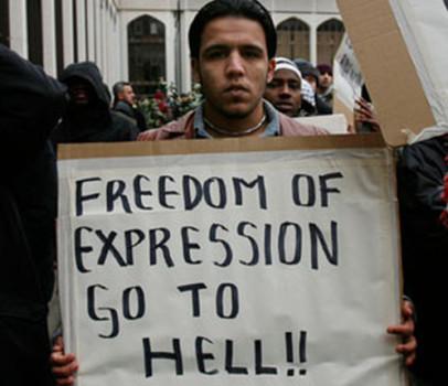 Muslim-protester-406x350
