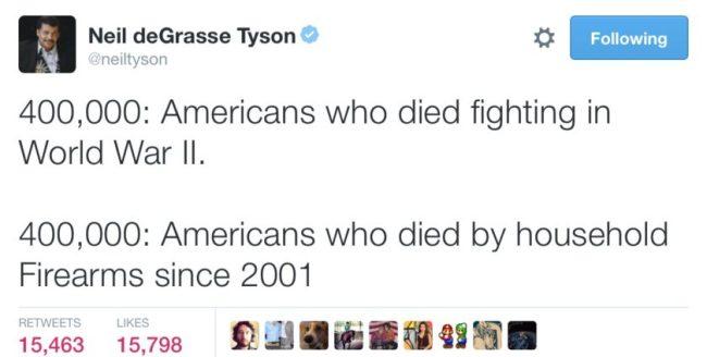 Neil_deGrasse_Tyson_on_Twitter___400_000__Americans_who_died_fighting_in_World_War_II__400_000__Americans_who_died_by_household_Firearms_since_2001_