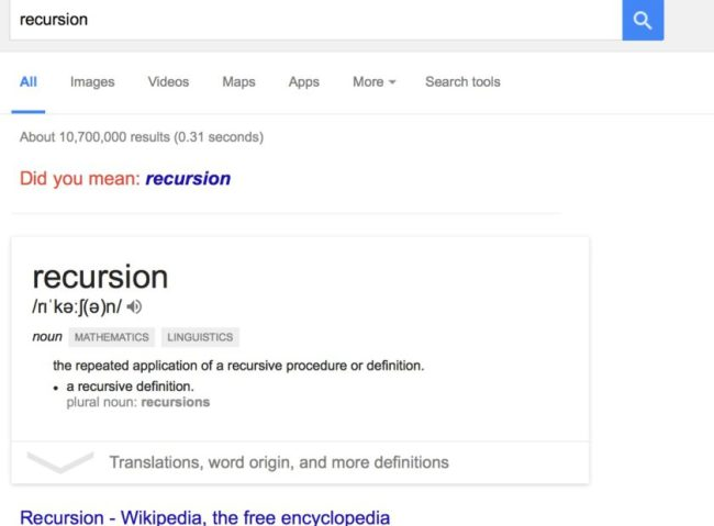 recursion_-_Google_Search