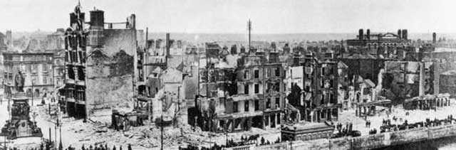 Dublin after the 1916 Easter rising