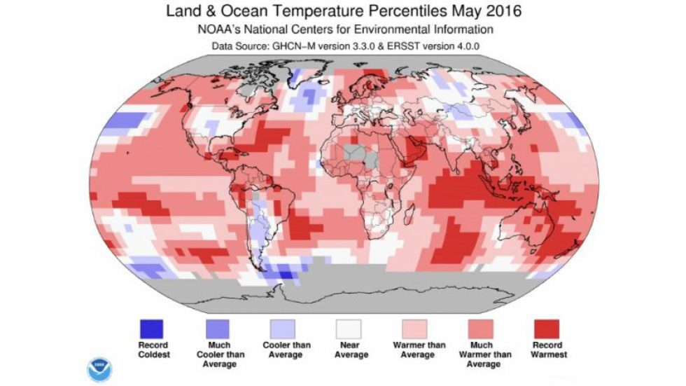 climate change may 2016