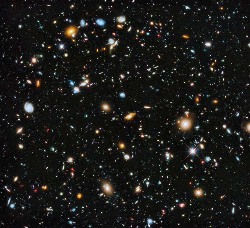 How do we know how many galaxies exist in the universe?