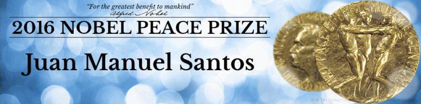 2016 Nobel Prize – Peace