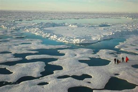 Is #arctic sea ice extent recovering?