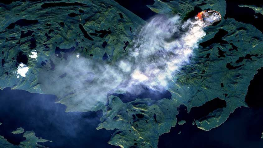 Ice and Fire: Wildfire in Greenland – #Climate