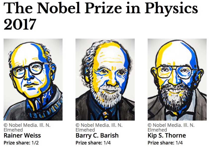 2017 nobel prize physics