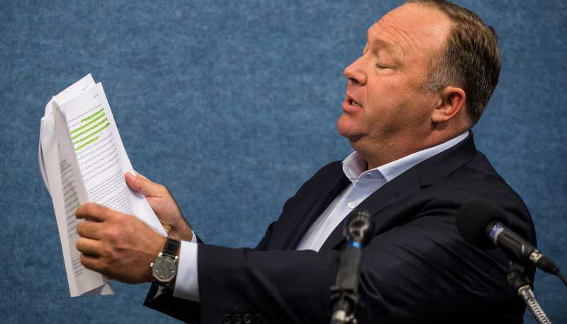 Alex Jones Has Been Named In Two More Defamation Suits