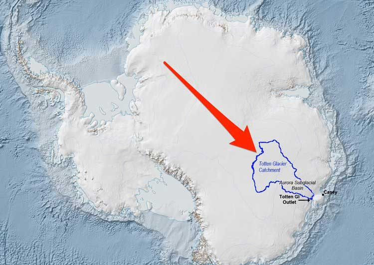 Study: East Antarctica ice sheet is becoming unstable