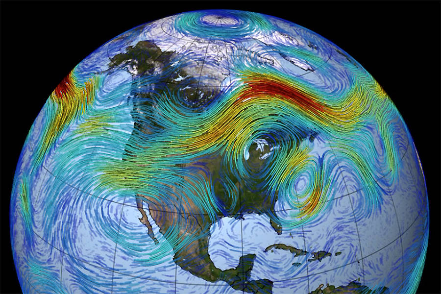 New Study: Global Warming is Messing with the Jet Streams