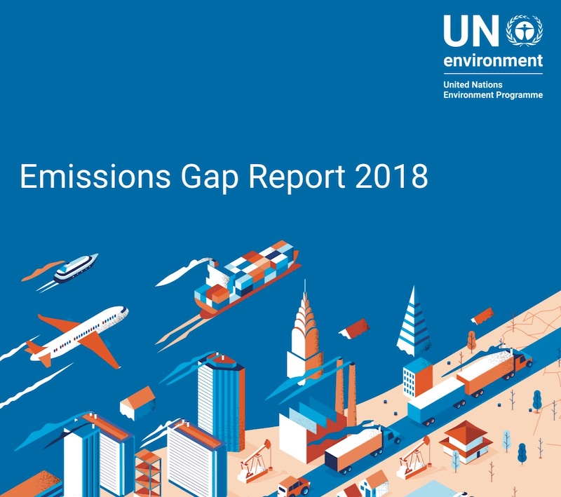 What is in the latest UN Emissions Gap Report 2018? – #emissionsGap