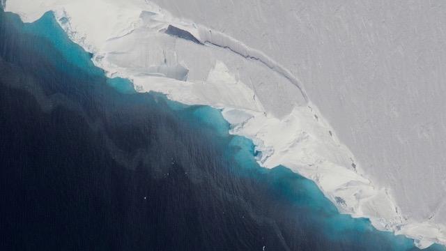 Giant Void under Antarctic Ice