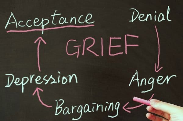 Modern Myth: The 5 stages of grief
