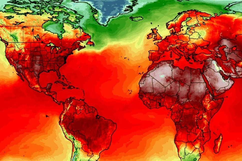 July 2019 is hottest July ever recorded