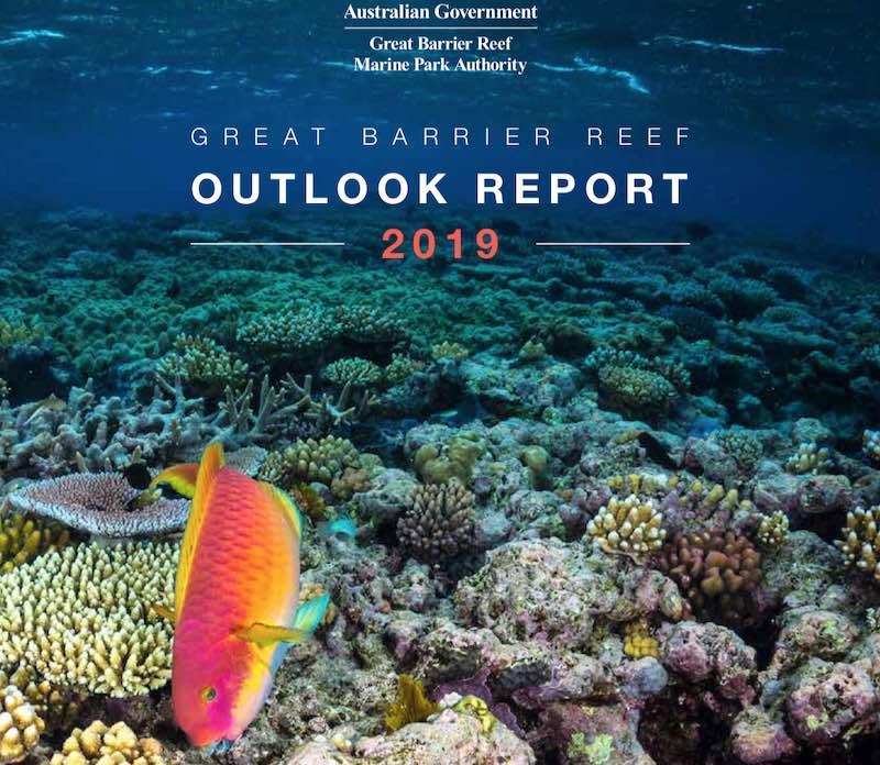 great barrier reef outlook 2019 report