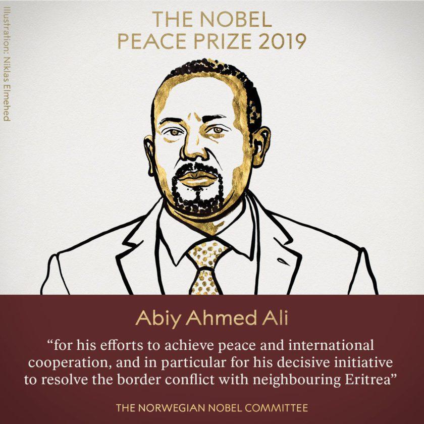 nobel peace prize 2019