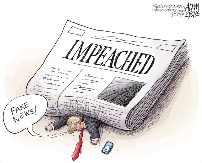 idiot in chief is impeached again.