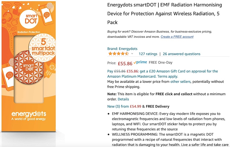 SmartDot on Amazon