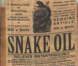 Goop ... the modern snake oil