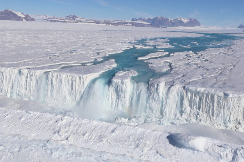 Antarctic Ice Shelf at Risk of Collapse