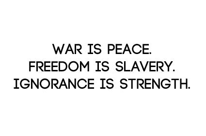 1984 george orwell vocabulary