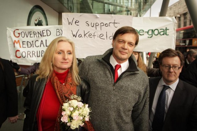 Andrew Wakefield was wronged