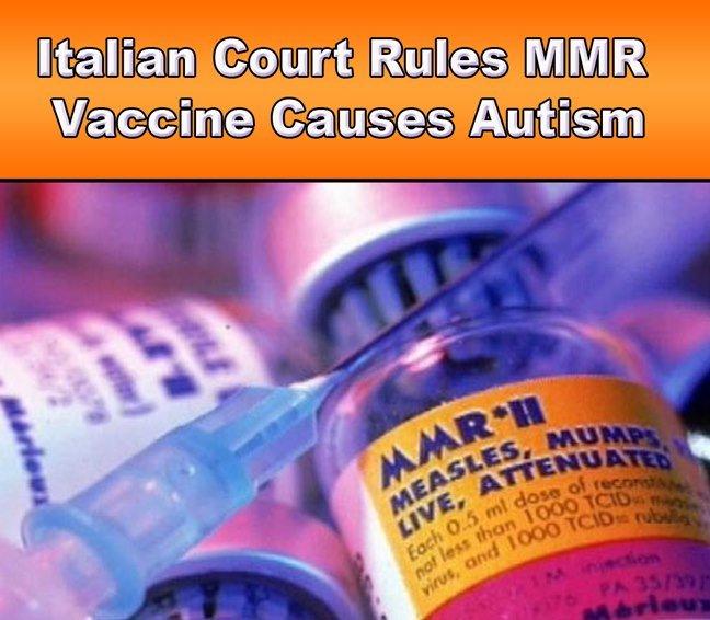 mmr autism