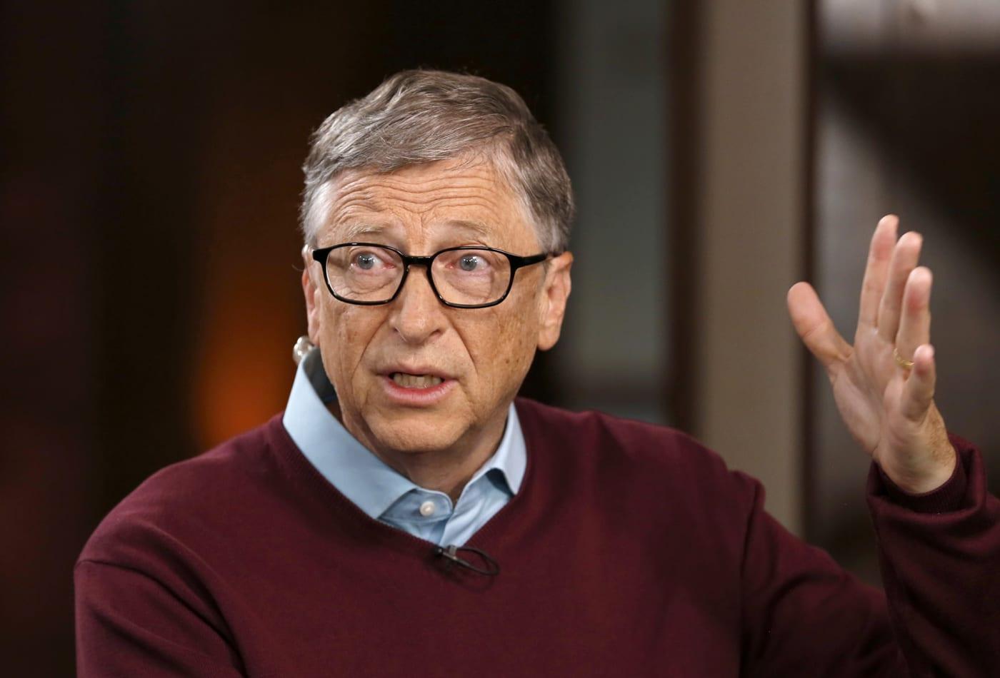 Bill Gates coronavirus conspiracy