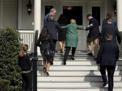 medically unfit Hillary Clinton