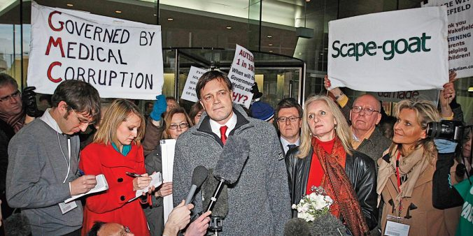Andrew Wakefield discredited