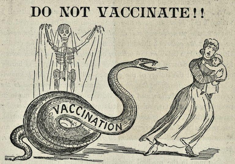 anti-vaccine tweets