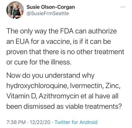 COVID-19 vaccine EUA