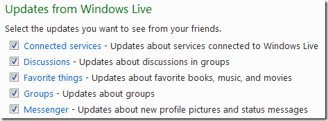 Windows Live Filters