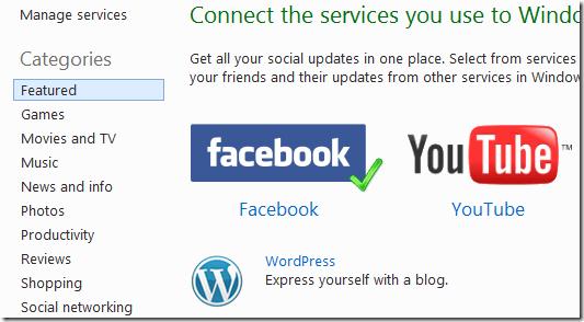 Windows Live Services